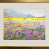 """American Legacy Fine Arts presents """"Lupine of the Storm"""" a painting by Robin Purcell."""