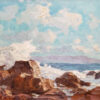 """American Legacy Fine Arts presents """"Summer Afternoon, Inspiration Point"""" a painting by Stephen Mirich."""