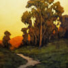 """American Legacy Fine Arts presents """"Nature's Toll Road"""" a painting by Steve Curry."""
