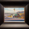 """American Legacy Fine Arts presents """"Freeway Palm"""" a painting by Tony Peters."""