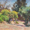 """American Legacy Fine Arts presents """"Down to Arroyo Park"""" a painting by W Jason Situ."""