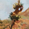 """American Legacy Fine Arts presents """"Gentle Peak, Eaton Canyon"""" a painting by William Stout."""