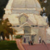 """American Legacy Fine Arts presents """"Morning at the Conservatory of Flowers"""" a painting by Brian Blood."""