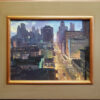 """American Legacy Fine Arts presents """"Nob Hill"""" a painting by Michael Obermeyer."""