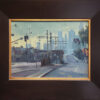 """American Legacy Fine Arts presents """"The Pico Aliso Station"""" a painting by Michael Obermeyer."""