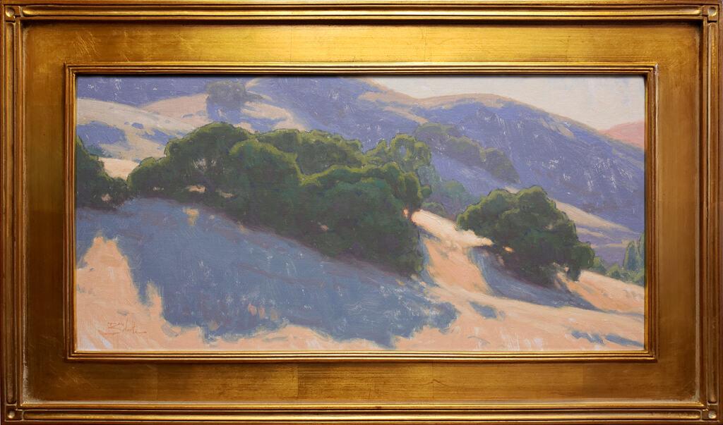 "American Legacy Fine Arts presents ""Hillside Oak"" a painting by Dan Schultz."