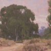 """American Legacy Fine Arts presents """"Overcast Meadow"""" a painting by Dan Schultz."""