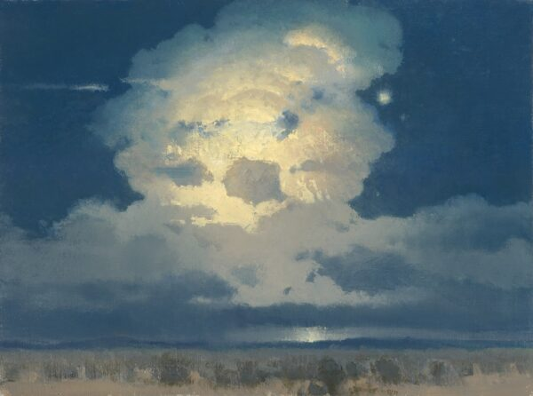 """American Legacy Fine Arts presents """"Nocturne Luminary"""" a painting by David Griffin."""