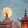 """American Legacy Fine Arts presents """"Mid-Autumn Festival in Chinatown"""" a painting by Mian Situ."""