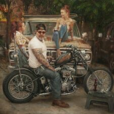 """American Legacy Fine Arts presents """"Tuesday's Gone"""" a painting by Nikita Budkov."""