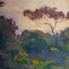 """American Legacy Fine Arts presents """"Landscape Silhouette, Portuguese Bend"""" a painting by Amy Sidrane"""