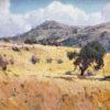 "American Legacy Fine Arts presents ""Malibu Hills"" a painting by Mian Situ"
