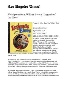 American Legacy Fine Arts presents William Stout in Los Angeles Times article, May 2015