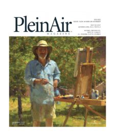 American Legacy Fine Arts presents Jim McVIcker featured in Plein Air magazine, September 2015 Issue.