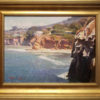 """American Legacy Fine Arts presents """"A View from La Jolla"""" a painting by Calvin Liang."""