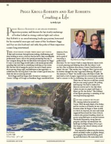 American Legacy Fine Arts presents Peggi Kroll-Roberts and Ray Roberts in CAC Newsletter, Summer 2020.