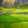 """American Legacy Fine Arts presents """"Serpentine View"""" a painting by Peter Adams."""