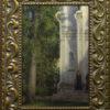 "American Legacy Fine Arts presents ""Beside; A Monastery in Zvenigorod, Russia"" a painting by Nikita Budkov"
